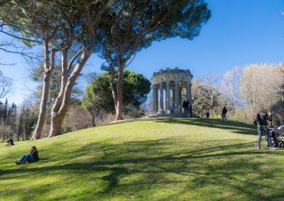 Jardín de El Capricho