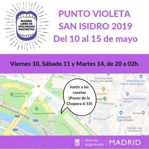Punto Violeta San Isidro 2019