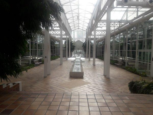 Interior del Palacio de Cristal o Invernadero de Arganzuela