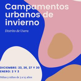 Campamentos urbanos 2019 Usera