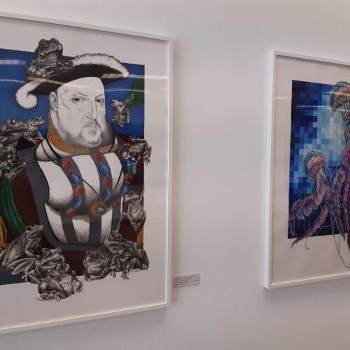 Dibujos El Rey Sapo (2020) y Medusa (2020)