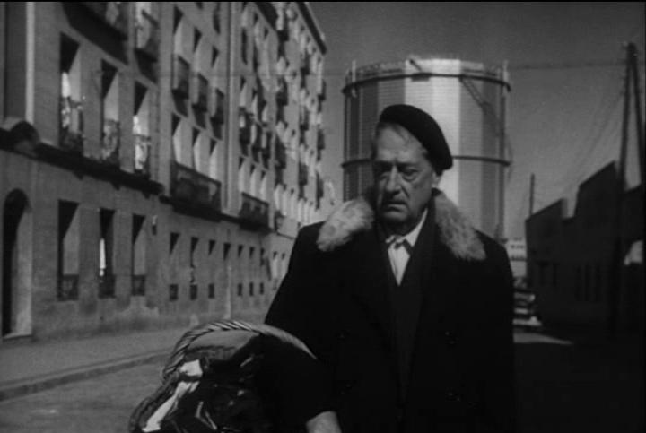Fotograma de película Surcos en el barrio de Acaacias ( 1951) Foto de UCM