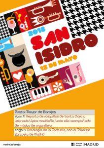 Cartel San Isidro en #DistritoBarajas