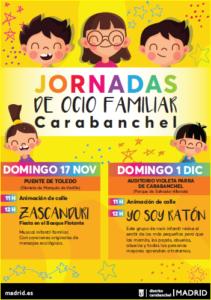 Jornada de Ocio Familiar 2019 en carabanchel