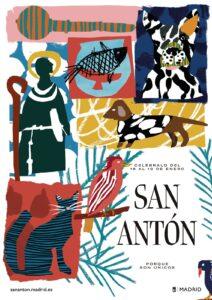 Cartel Fiestas San Antón 2020