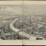Panorama de la Exposición Universal de París. La Ilustración Artística del 28 de enero de 1887 (Hemeroteca Municipal)