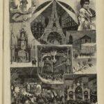 La Verbena de San Lorenzo de 1889, de Primitivo Carcedo. La Ilustración Nacional del 30 de agosto de 1889 (Hemeroteca Municipal y Museo de Historia)