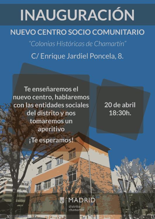 """3d58a3c986 Inauguración del Centro Socio Comunitario """"Colonias Históricas"""" del ..."""