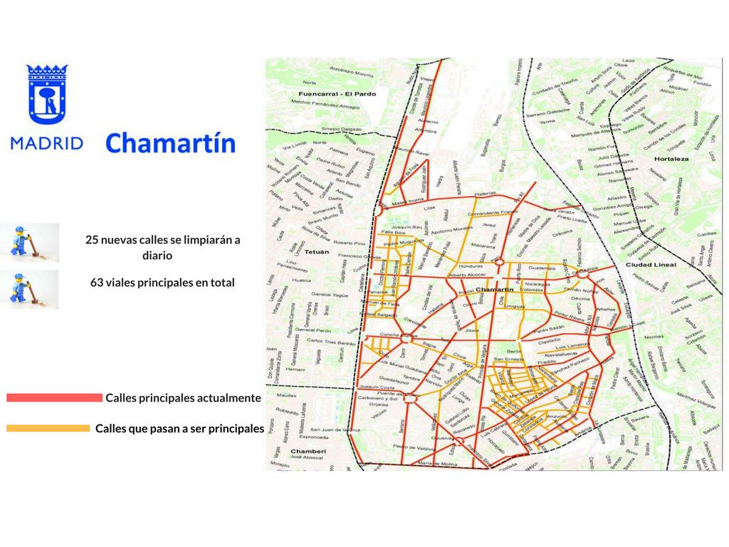 Aumenta el número de calles que tendrán limpieza a diario en el ...