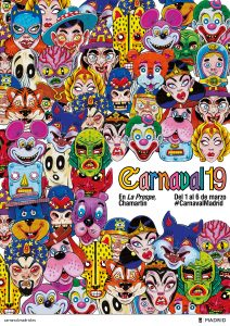 Carnaval 2019 en La Prospe, Chamartín