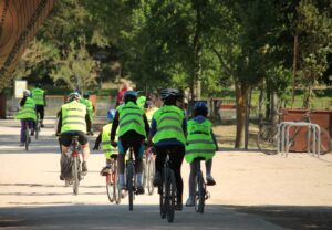 Bicicletada: viaje al centro de Madrid