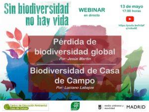 WEBINAR: Sin biodiversidad no hay vida