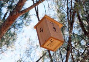 Aves y refugios de fauna