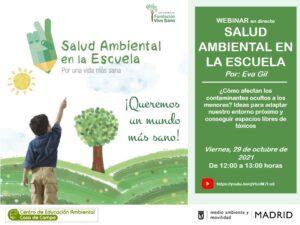 Webinar: Salud Ambiental en la Escuela. Por una vida más sana