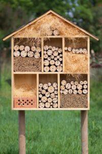 Taller: construcción de un hotel de insectos @ CIEA de la Dehesa de la Villa