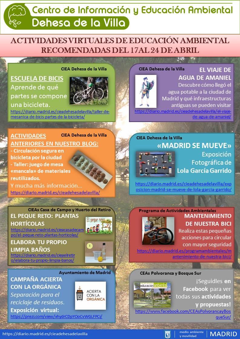 ACTIVIDADES AMBIENTALES 17-24 DE MAYO