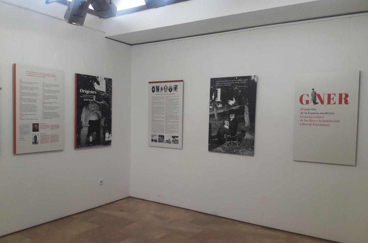 Exposición 'El maestro de la España moderna. Francisco Giner de los Ríos y la Institución Libre de Enseñanza'