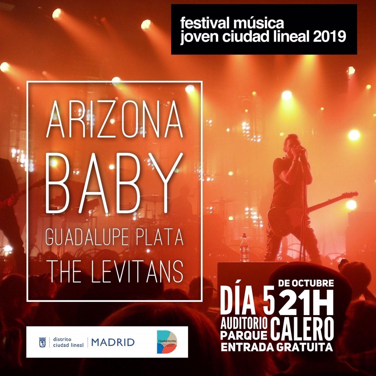 Festival música joven Ciudad Lineal 2019
