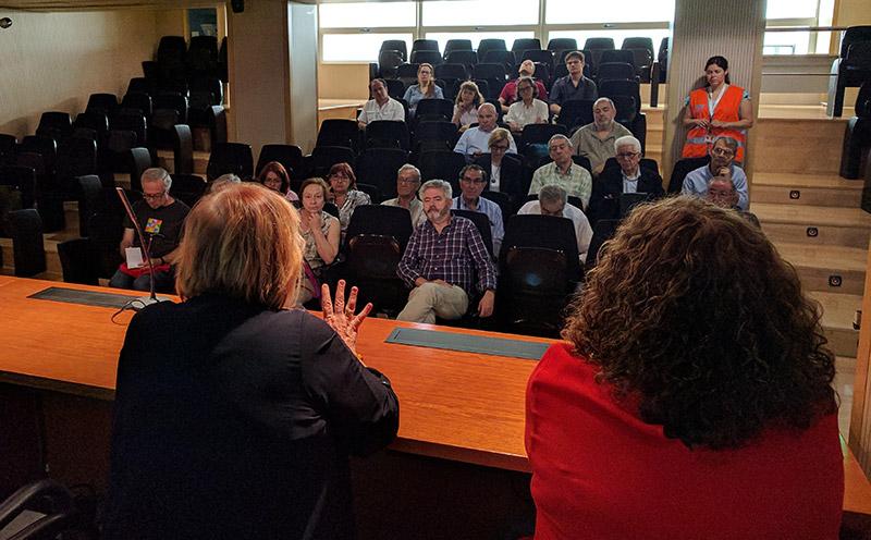 Taller de formación de la votación de presupuestos participativos de Voluntarios por Madrid.