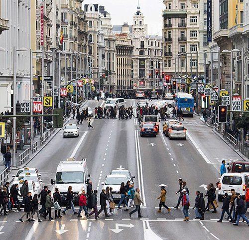 Imagen de la campaña de la primera votación ciudadana del Ayuntamiento de Madrid.