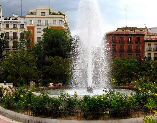 Plaza de Olavide. Foto: Flickr/Mallol