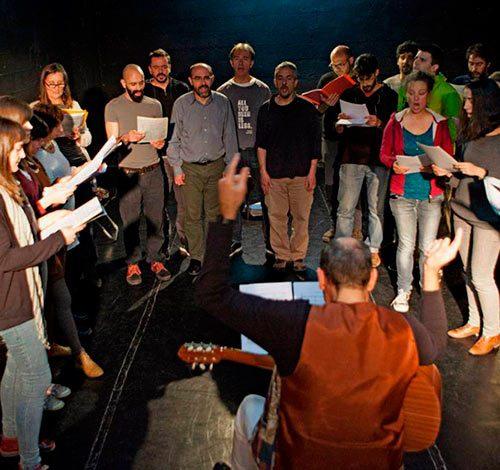 Coro en Madrid. Foto: Ayuntamiento de Madrid