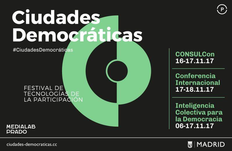 Ciudades Democráticas, festival de tecnologías de la participación