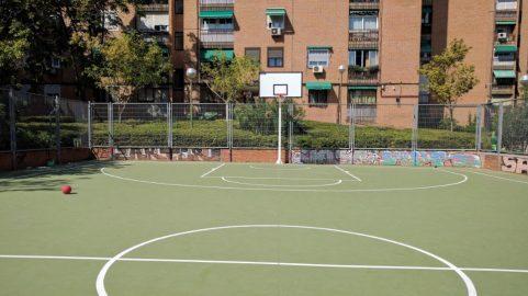Cancha de baloncesto de Saconia