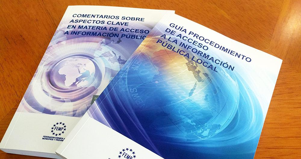 Guías de acceso a la información pública local publicadas por la FEMP.