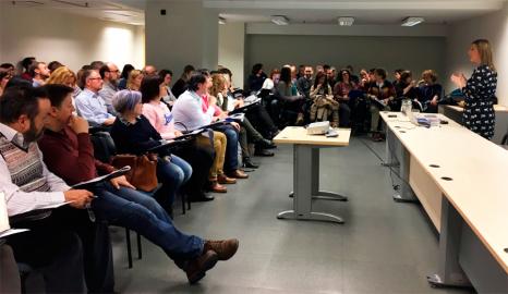 Sesión de evaluadores de presupuestos participativos 2018.