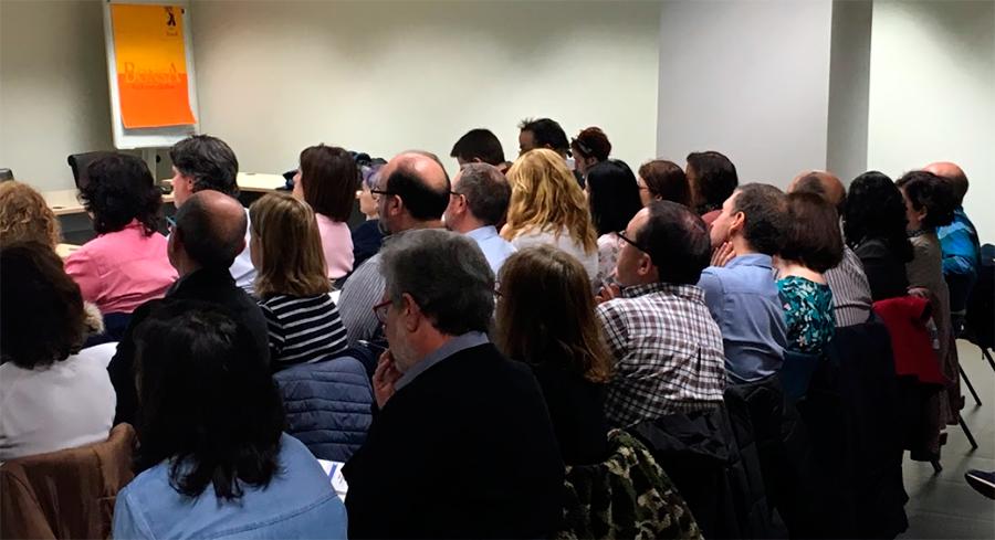 Funcionarios del Ayuntamiento de Madrid que van a evaluar los presupuestos participativos
