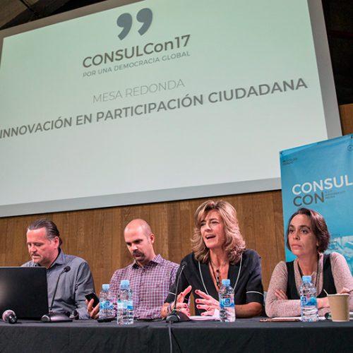 Mesa redonda de la CONSULCon 2017.