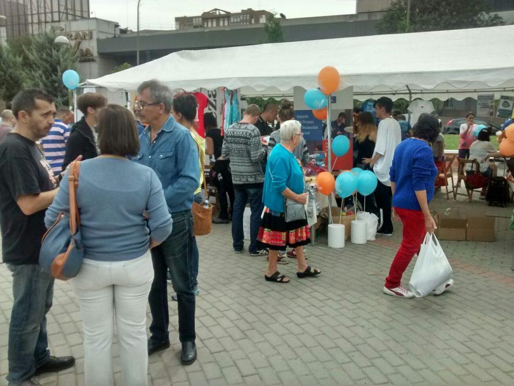 Mesas informativas de la Feria de Asociaciones de Hortaleza 2016