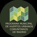 Logotipo del Programa municipal de huertos urbanos comunitarios de Madrid