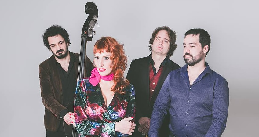 La Lunfardita nace en Madrid. Lo componen Jesús Peñaranda, al acordeón, Simon Gumbo, a la guitarra manouche, la cantante Carolina Dubois, y al contrabajo, Alejandro Ollero.