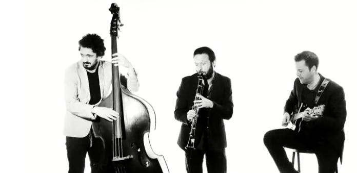 El trío de jazz Swingapur