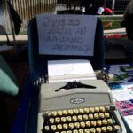 Máquina de escribir Programa salud Mental - Carpa CMSc de Latina