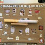 Panel sobre tabaquismo - Carpa CMSc de Latina