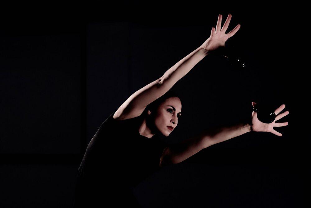 La bailarina Ana del Rey en Nora de Rajatabla Danza