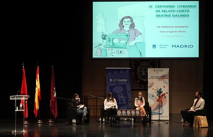 Gala de presentación del libro Latina 3000 #igualdad
