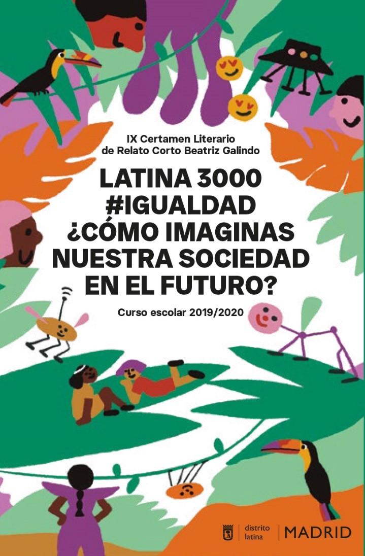 portada del libro Latina 3000 #igualdad