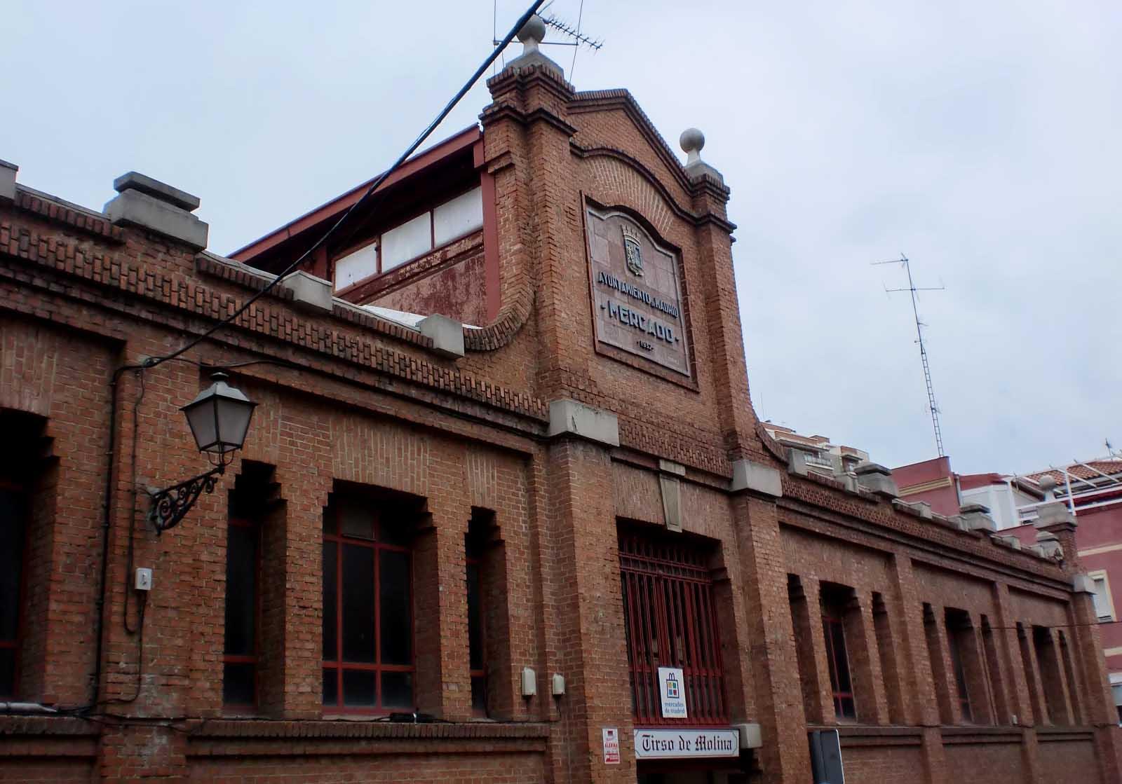 Mercado municipal Tirso de Molina