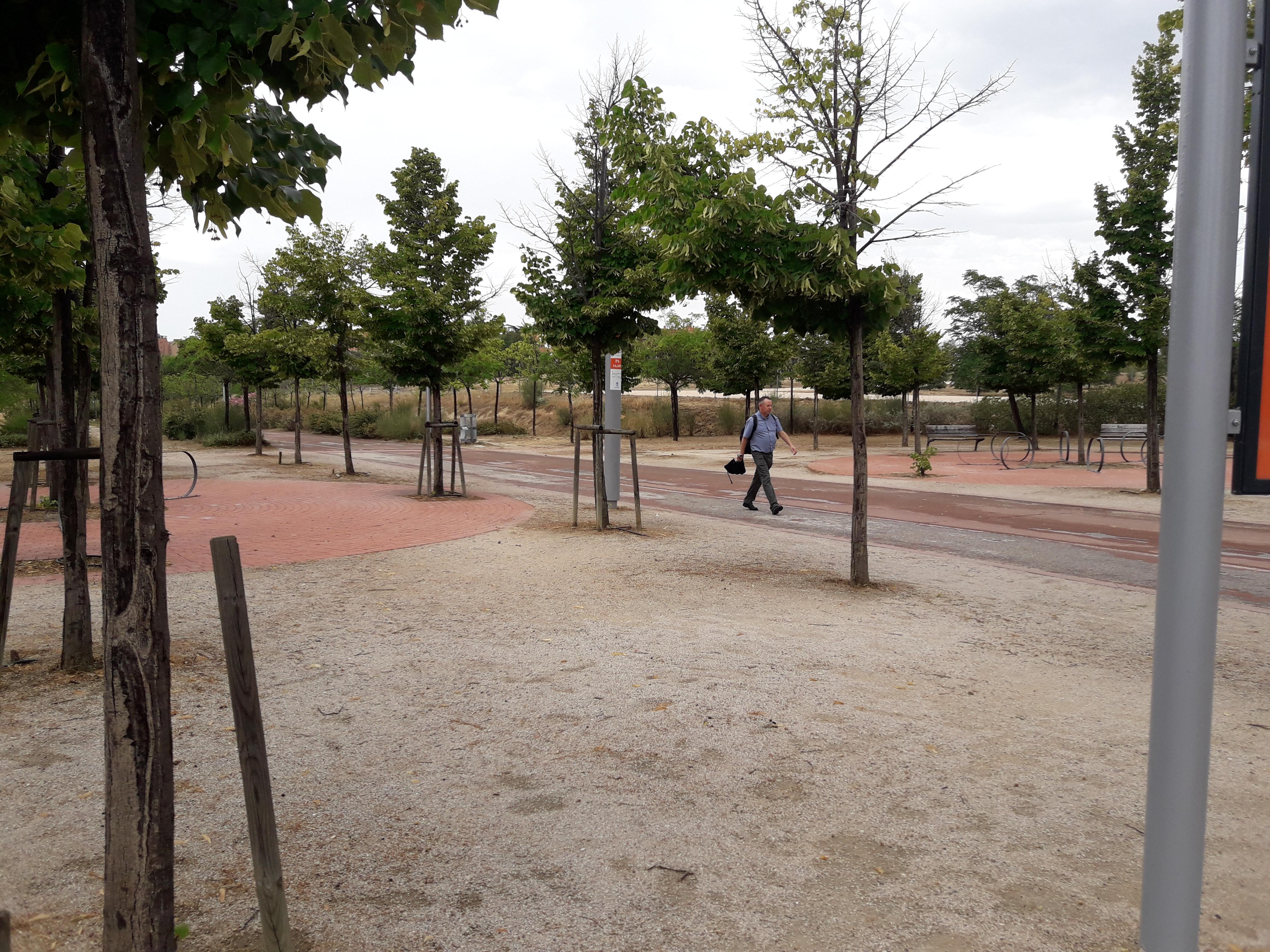 parque cua verde moratalaz