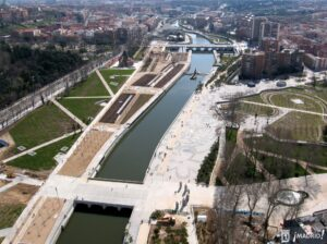 MADRID RÍO Tramo I: Del Puente del Rey al Puente de Andorra