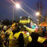 Petición de paz a los Reyes Magos, en Puente de Vallecas