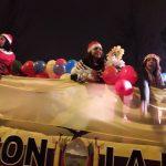 La comunidad sudamericana participa en la Cabalgata de Puente de Vallecas