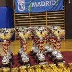 Todos los trofeos preparados para entregar a los campeones