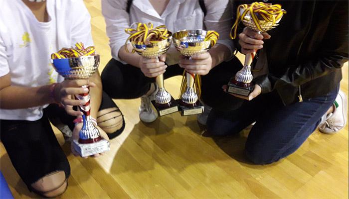 Algunos equipos repitieron podio en las competiciones del distrito