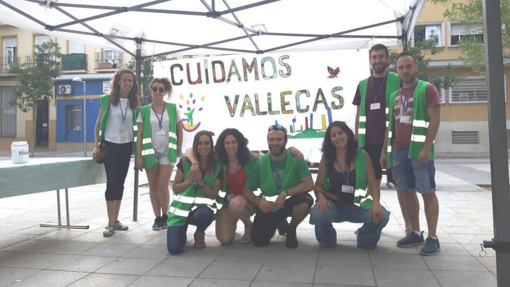 La educación medioambiental importante durante las Fiestas de Puente de Vallecas
