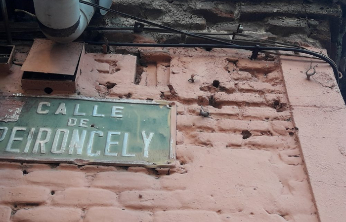 La casa de Peironcley, 10 conserva los impactos de bala